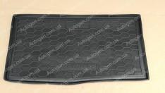 Коврик в багажник Chevrolet Spark 3 (2009->) (Avto-Gumm полимер-пластик)