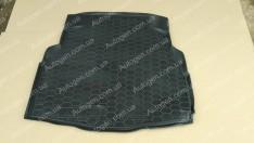 Коврик в багажник Mercedes W205 SD (без уха) (2015->) (Avto-Gumm полимер-пластик)