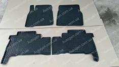 Коврики салона Lexus LX 3 (570) (2007->) (4шт) (Avto-Gumm)