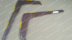 Ветровики Peugeot Boxer (2006->) (вставные) (Heko)