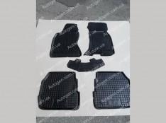 Коврики салона Audi A6 C5 (1997-2004) (5шт) (Avto-Gumm)