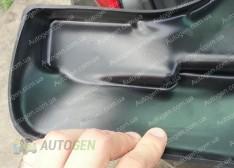Брызговики модельные Nissan Sentra (B17) (2012->) (передние 2шт.) (Lada-Locker)