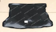Коврик в багажник Honda Jazz HB (2004-2009) (резино-пластик) (Nor-Plast)