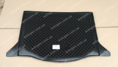 Коврик в багажник Honda Jazz HB (2009->) (резино-пластик) (Nor-Plast)