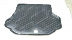 Коврик в багажник Kia Carens (1999-2006) (резино-пластик) (Nor-Plast)
