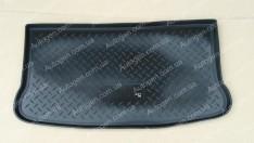 Коврик в багажник Mitsubishi Colt HB (2009-2012) (резино-пластик) (Nor-Plast)