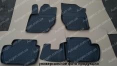 Коврики салона Audi A4 B7 SD (2004-2008) (Полимерные) Lada Locker
