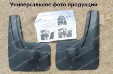 Nor-Plast Брызговики модельные Mercedes X166 AMG (2012->) (GL  c порогом) (задние 2шт.) (Nor-Plast)
