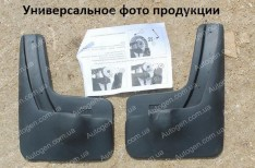 Брызговики модельные Skoda Rapid LB (2013->) (задние 2шт.) (Nor-Plast)