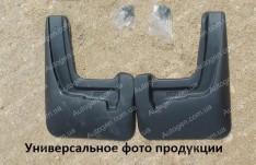 Брызговики модельные Skoda Rapid LB (2013->) (передние 2шт.) (Nor-Plast)