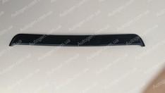 Козырек заднего стекла (бленда) Kia Cerato SD (2004-2008) скотч (Fly)