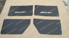 Обшивка дверей карты ГАЗ Волга 3110 черная