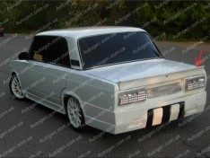 Спойлер багажника ВАЗ 2105, 2107 (Design Lip) (стекловолокно)