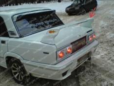 Спойлер багажника ВАЗ 2105, 2107, 21099 (Design Sport) (стекловолокно)
