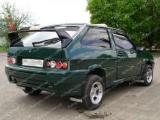Спойлер багажника ВАЗ 2108, 2109, 2113, 2114 (Design Sport) (стекловолокно)