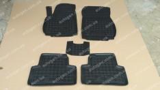 Коврики салона Opel Zafira C (первый+второй ряд) (2011->) (5шт) (Avto-Gumm)