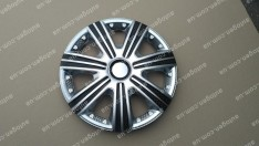 Колпаки на колеса DTM Super Silver R15 3D carbon (STR)