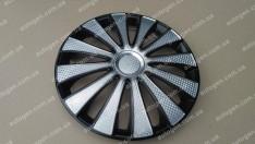 Колпаки на колеса GMK Super Black R13 3D carbon (STR)