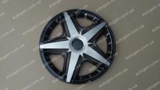 Колпаки на колеса NHL Super Black R14 3D carbon (STR)