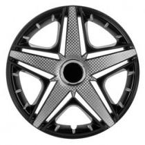 Колпаки на колеса NHL Super Black PRO R16 3D carbon (STR)