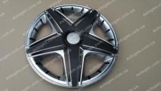 Колпаки на колеса NHL Super Silver R14 3D carbon (STR)
