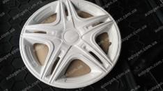 Колпаки на колеса Dakar White R15 3D carbon (STR)