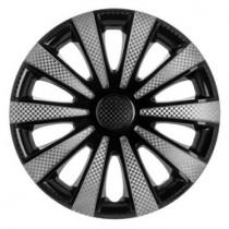 Колпаки на колеса Karat Super Black R16 3D carbon (STR)