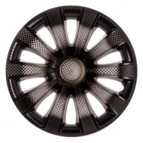 Колпаки на колеса Karat+ R13 3D carbon (STR)