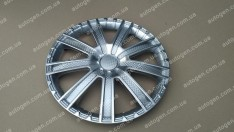 Колпаки на колеса Kruiz R15 3D carbon (STR)