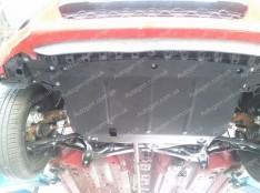 """Защита двигателя Citroen C1 (обычная) (2005-2014)   """"Titanium"""""""