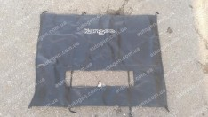 Утеплитель решетки радиатора и бампера Renault Kangoo 2 (2008->) мягкий черный