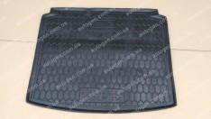 Коврик в багажник Volkswagen Golf 4 HB (1997-2003) (Avto-Gumm полимер-пластик)