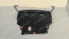 """Защита двигателя Ford Fiesta (для ecoboost) (2013->) """"Titanium"""""""