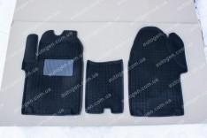 Коврики салона Ford Custom (2012->) 1+2 (3шт) (Avto-Gumm 3D ворс)