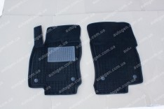 Коврики салона Mercedes Sprinter 2 (2006->) (2шт) (Avto-Gumm 3D ворс)
