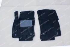 Коврики салона Ford Courier (1+1) (2014->) (2шт) (Avto-Gumm 3D ворс)