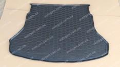 Коврик в багажник Kia Rio SD (седан) (Росс. сборка) (2017->) (Avto-Gumm полимер-пластик)