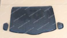 Коврик в багажник Nissan Qashqai 2 (2017->) (нижняя полка) (Avto-Gumm полимер-пластик)