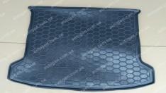 Коврик в багажник Kia Rio HB (хетчбэк) (2018->) (росс. сборка) (Avto-Gumm Полиуретан)