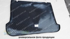 Коврик в багажник Kia Picanto (JA) HB (2017->) (резино-пластик) (Nor-Plast)