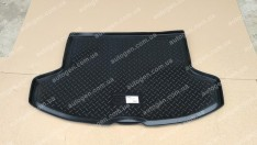 Коврик в багажник Mitsubishi Lancer 10 HB (хетчбек) (2007->) (резино-пластик) (Nor-Plast)