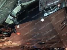 """Защита двигателя Hyundai Veloster (2011-2018) """"Titanium"""""""