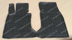 Коврики салона BMW E60/E61 (2003-2010) (передние 2шт) (Avto-Gumm)