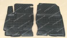 Коврики салона Mitsubishi Colt (2003-2012) (передние 2шт) (Avto-Gumm)