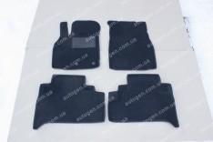Коврики салона Volkswagen Sharan (5 мест) (1995-2010) (3шт) (Avto-Gumm 3D ворс)