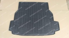 Коврик в багажник Mercedes W203 UN (универсал) (2001-2007) (Avto-Gumm полимер-пластик)