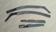 Ветровики Hyundai Getz (5дв) (2002-2011) (вставные) (Heko)