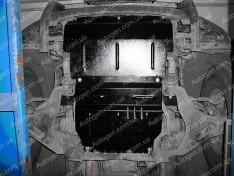 """Защита двигателя Mitsubishi L200 (2006-2015) (радиатор, двигатель, коробка)    """"Titanium"""""""