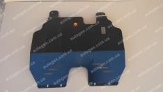 "Защита двигателя Nissan Almera B10 Classic  (2006-2012)     ""Titanium"""
