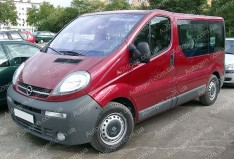 Защита двигателя Opel Vivaro (2001->) Titan